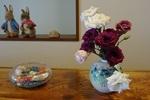 7月末 玄関の花