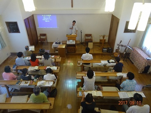 9月10日 礼拝講師 村上渡先生