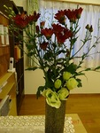10月第3週 受付の花