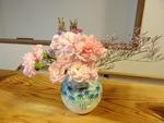 10月最終週 玄関の花