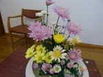 11月第3週 講壇の花