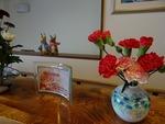11月第3週 玄関の花