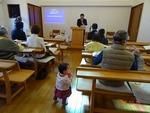 大阪中央福音教会の大塚学師によるメッセージ