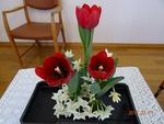 3月第二週 講壇の花