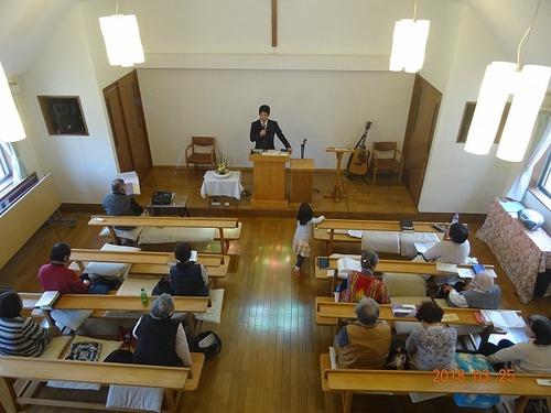 3月25日 受難週 礼拝